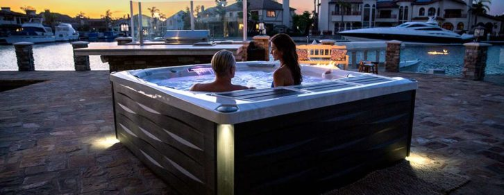 980 sērijas āra karstās spa vannas