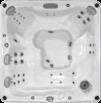 Ramona SPA karstās āra vannas 680 sērija